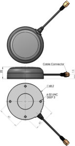 TW 7900P Passive Triple Band GNSS Antenna